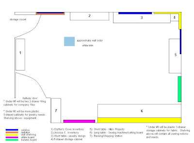 Craft Room Layout | Joy Studio Design Gallery - Best Design