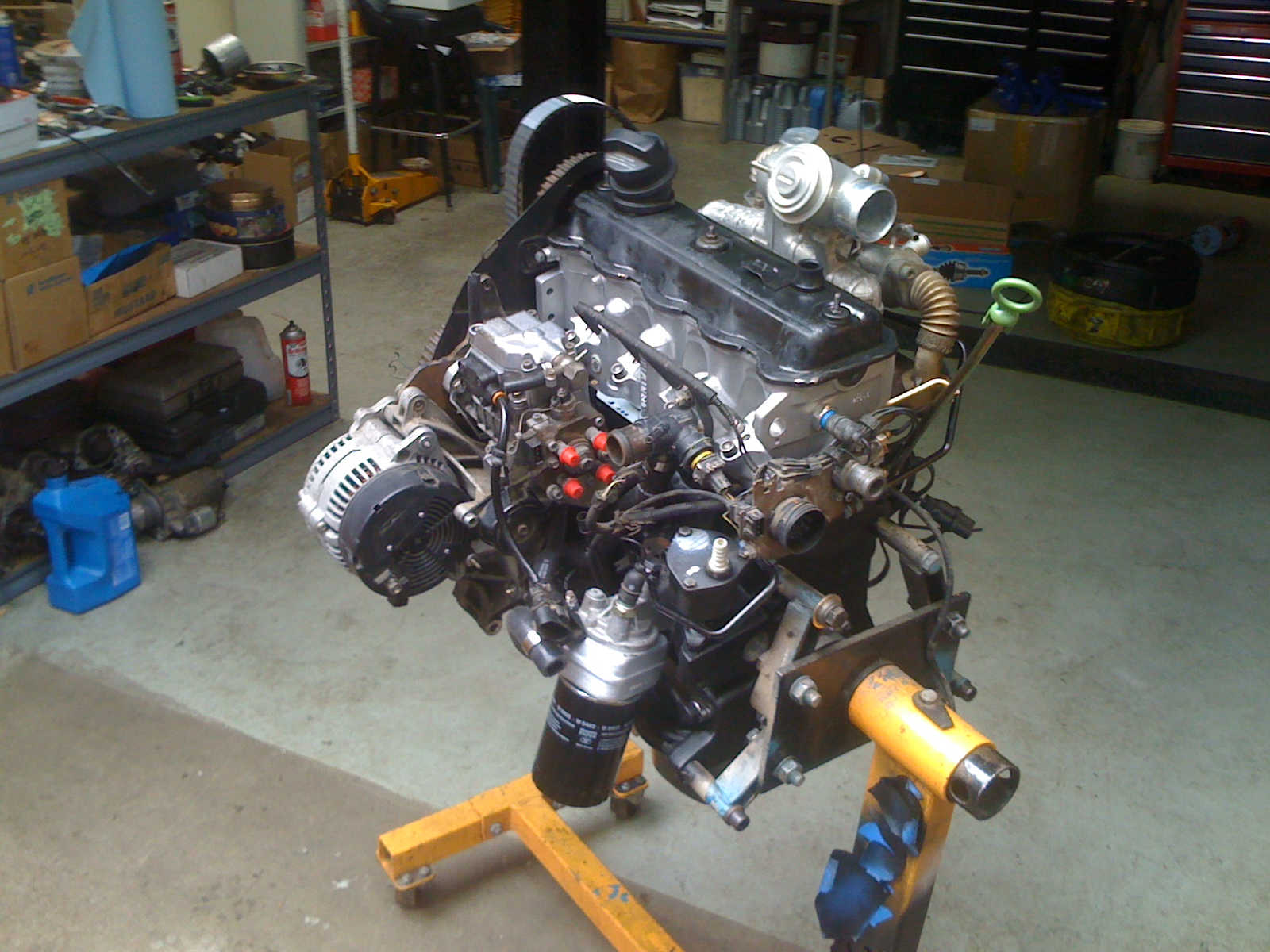 Grease Works Shop Notes Eurovan 4 Cyl Ahu Tdi Engine