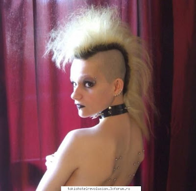 punk hairstyles pictures. Pop Punk Hairstyle: This is one of the girl punk hairstyles that is mostly
