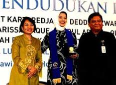 Ketua BKKBN Dr. Sugiri, Duta BKKBN Marissa Haque & Ikang Fawzi, Ibu Murti BKKBN Semarang