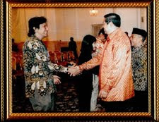 Ikang Fawzi and Presiden SBY