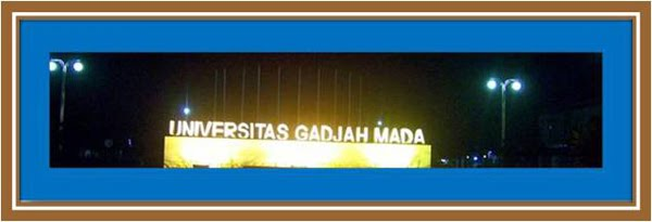 Malam Hari, di Kampus UGM
