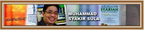 Syakir Sula, Sekjen MES (Masyarakat Ekonomi Syariah)