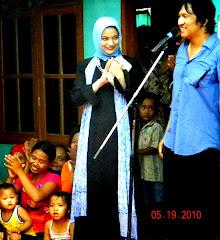 Damai dan Sentosa Citra Bangsa Indonesia di Wakili Keluarga Ikang Fawzi & Marissa Haque