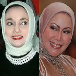 Marissa Haque & Ratu Atut Chosiyah