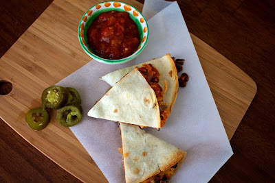black+bean+oven+quesadillas Black Bean Oven Quesadillas
