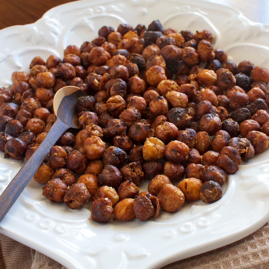 spicy roasted chickpeas 2 cans 15 ounces each chickpeas drained
