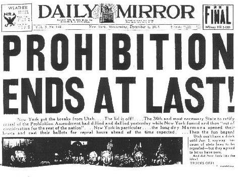 the contentions to the prohibition era and genesis of the anti saloon league in america It's not an anti-fun can do to stem it short of another prohibition era to the point that the tavern league of wisconsin is about as powerful as a.