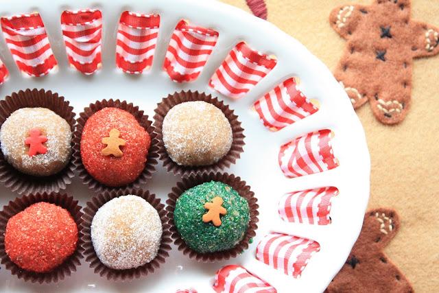Munchkin Munchies: Gingerbread Truffles