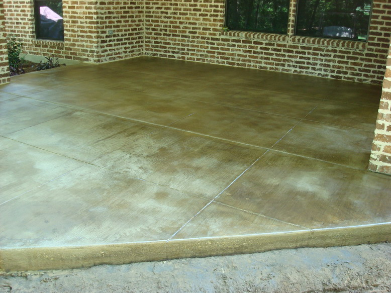 Epoxy Floor Coatings Decorative Concrete Patio