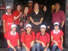 With Maria Tunku Sabri ( jalan-jalan cari makan)