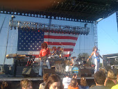red white and blue concert