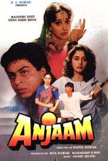 Anjaam 1994 Hindi Movie Watch Online
