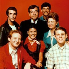 "Writer Marty Nadler was there with ""Richie"" and the ""Happy"" gang."