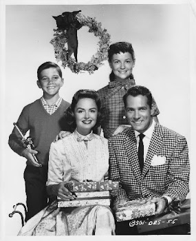 "Cast of the TV classic, ""The Donna Reed Show"""