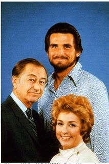 "Robert Young with James Brolin and Elena Verdugo of ""Marcus Welby, M.D."")"