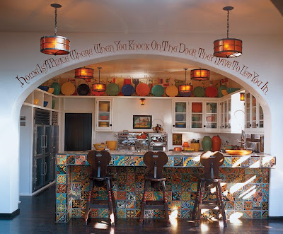 Spanish kitchen ideas afreakatheart Spanish home decorating styles