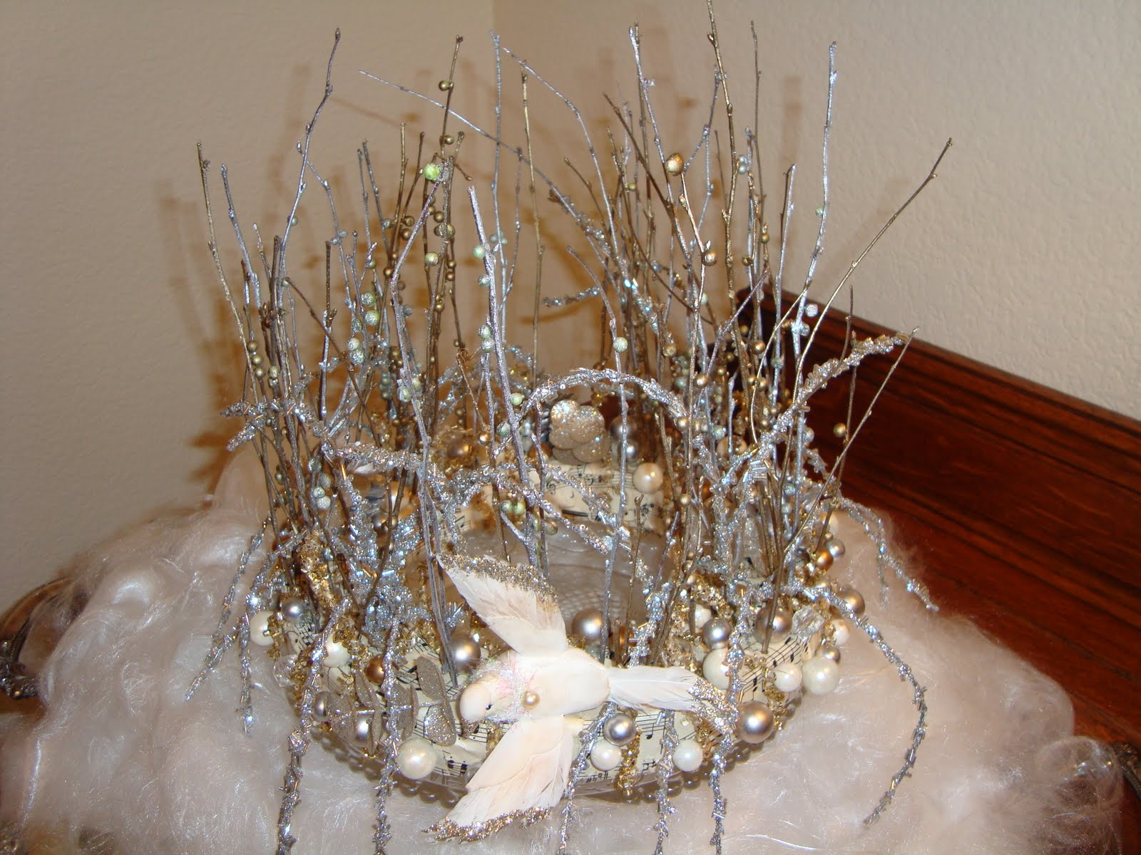 Decor To Adore: Anthropologie Inspired Tree Topper~Craft 3