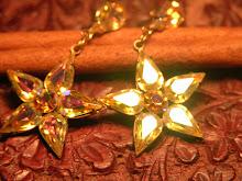 """AURORA SUN"" SWAROVSKI CRYSTAL STARS"