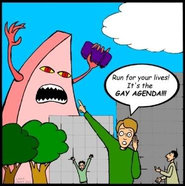 beware of the gay agenda
