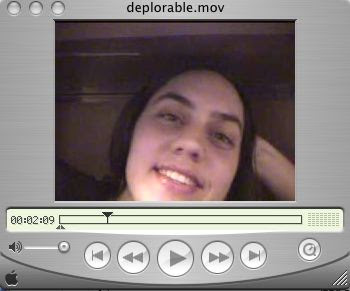 Ryanne's Video Blog: DEPLORABLE