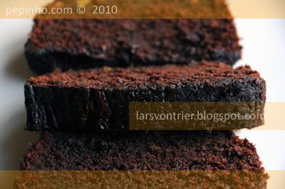 Cake de chocolate y naranja confitada