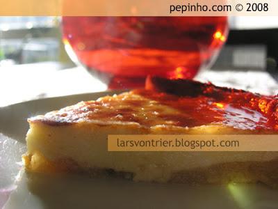 Clafoutis de manzanas caramelizas