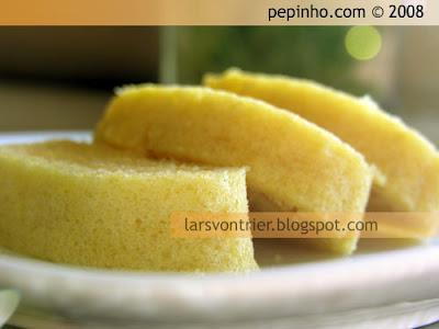 Rollito de limón y almendra