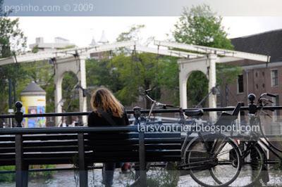 Amsterdam, puente sobre Amstel
