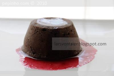 Fondant de chocolate, canela y pimentón picante de la Vera (o cayena)