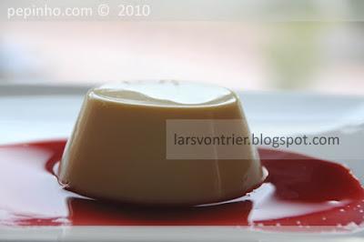 Panna cotta de naranja (y limón)