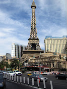 The Paris Las Vegas Hotel complete with onehalf size Eiffel Tower. (lv paris)