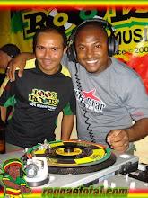 Henrique Designer dono do Reggaetotal.com & Edvan Marley Dono do Blog Edyreggae.blogspot.com