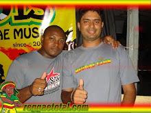EDVAN MARLEY & RUBINHO STAR COLECIONADOR DE FORTALEZA .FOI PARA JAMAICA E TROCE MUITOS DISCOS 7¨C.