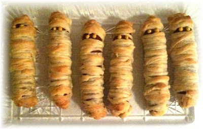 Crescent Mummy Dogs recipe from Pillsbury.com