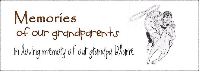 Grandma & Grandpa Hendricks