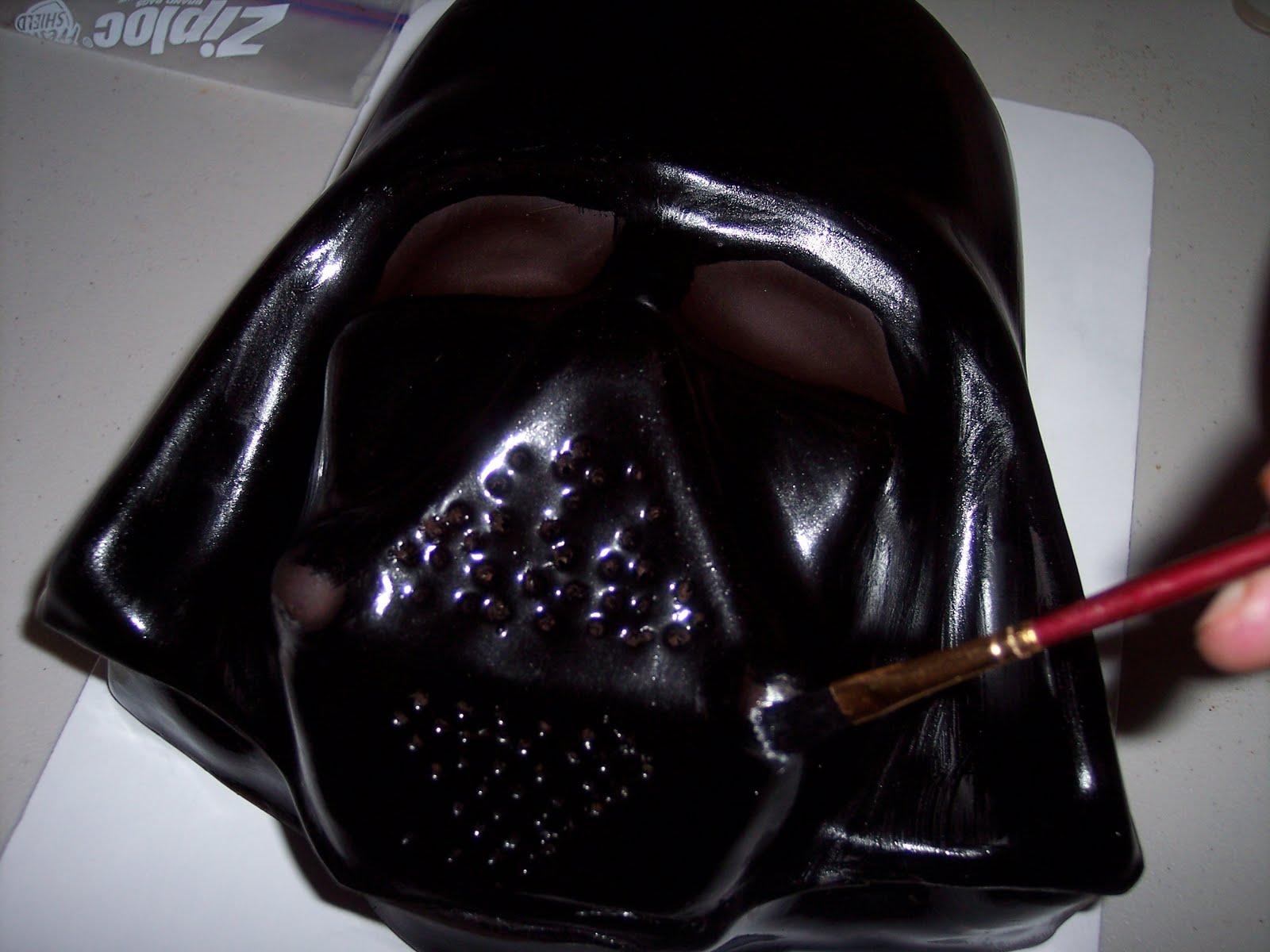 Carolina Cakes Confections Star Wars Birthday Cake Darth Vader