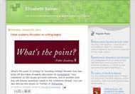 Click to go to Elizabeth Baines' Blog
