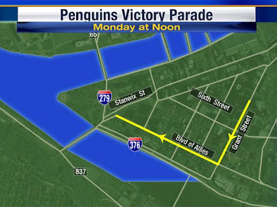Pittsburgh Penguins Parade Route