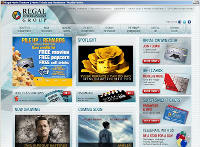 Regal cinemas showtimes, Regal theaters entertainment show times