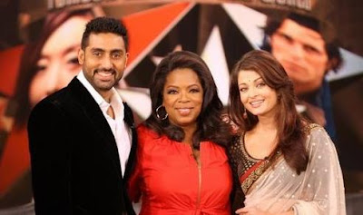 Aishwarya Rai &amp; Abhishek Bachchan on Oprah Show Interview Video