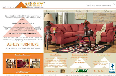 Ashley Firniture on Ashley Furniture  Outlet   Www Ashleyfurniture Com