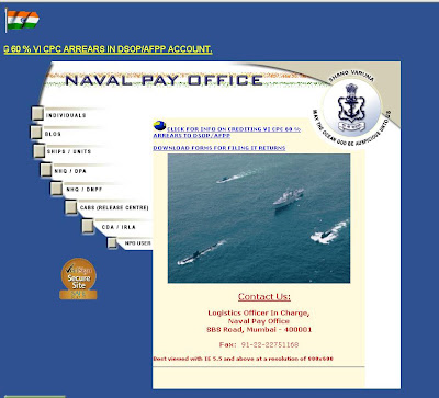 Naval pay office, navpay.gov.in, navpay.gov.in, naval pay office