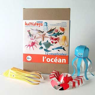 Sea Creatures Papercraft