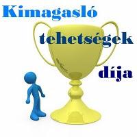 10. DÍJ - KIMAGASLÓ TEHETSÉGEK DÍJA ISYTŐL (2010. AUGSZTUS 2.)