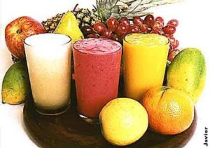 Receita para sucos de frutas