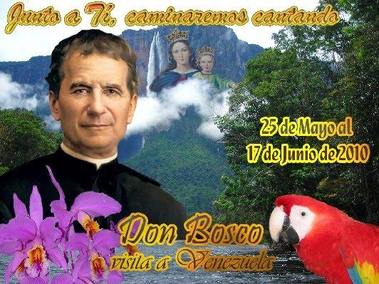 DON BOSCO VISITA VENEZUELA