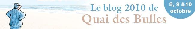 Le blog de Quai des Bulles 2010