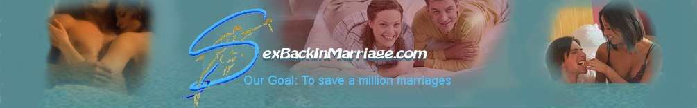 Sex Back In Marriage