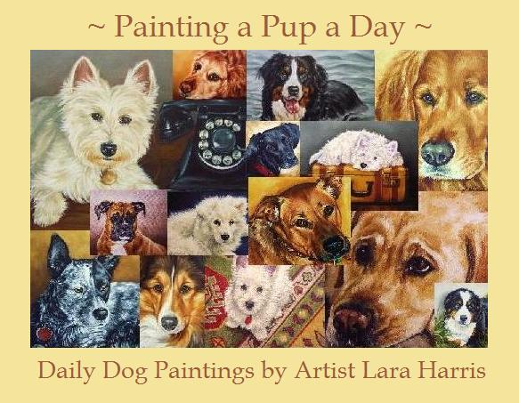 Painting a Pup a Day: